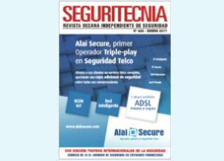 Alai Secure portada especial del número de enero de Securitecnia 2017