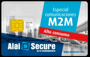 AlaiSecure - Tarjeta SIM: Alto Consumo