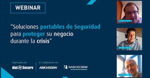 """AlaiSecure - Noticias: Webinar """"Soluciones de Seguridad portables en tiempos de crisis"""""""