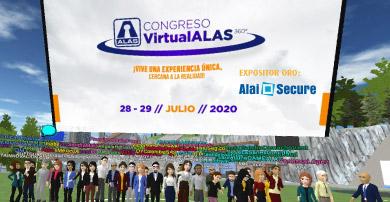 Alai Secure participa como Expositor ORO en el Congreso Virtual ALAS 360°