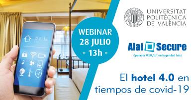 """Alai Secure participa como ponente invitado en el webinar """"El hotel 4.0 en tiempos de COVID-19"""""""