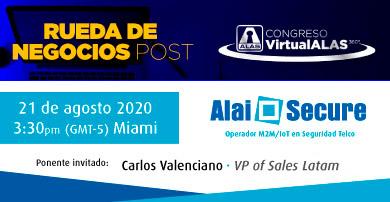 Alai Secure participa en la rueda de negocios convocada por ALAS