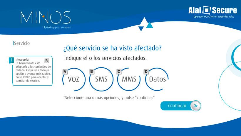 AlaiSecure - Sistema MINOS