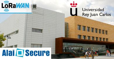 Alai Secure participa con éxito en el proyecto piloto Smart Campus de la Universidad Rey Juan Carlos sobre tecnología LoRaWAN