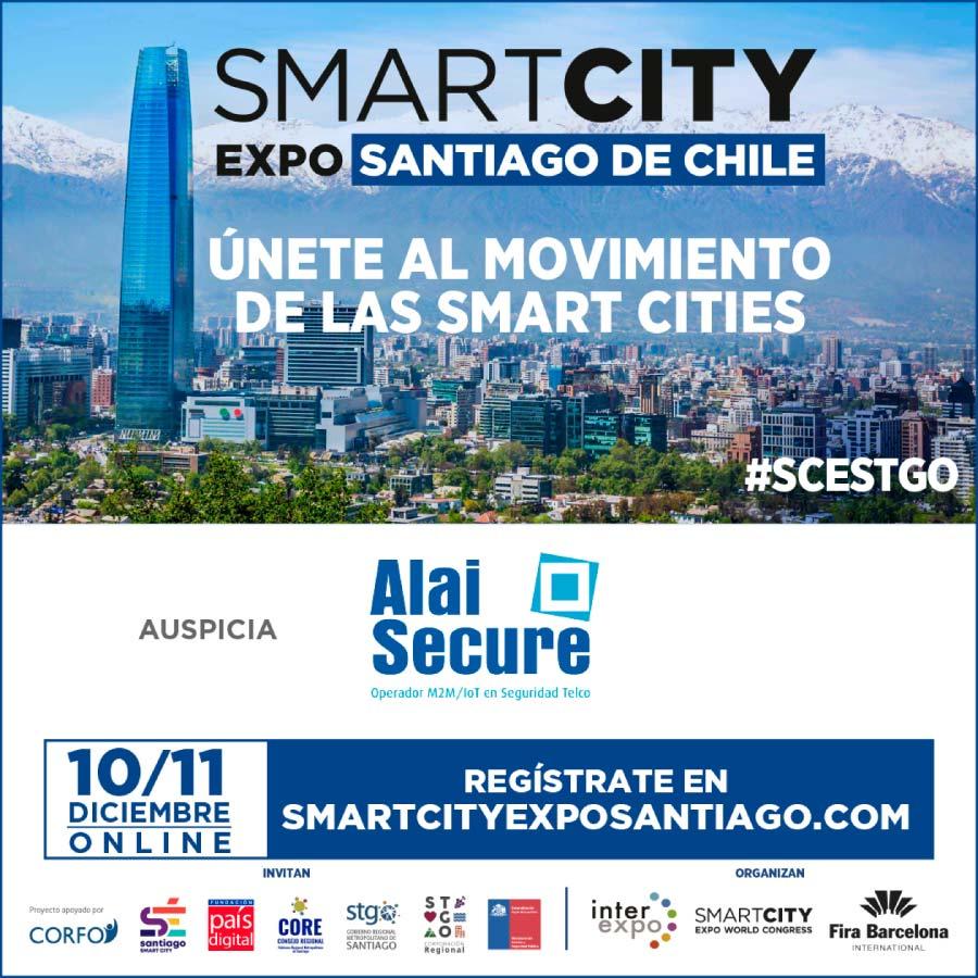 AlaiSecure - Noticia: SmartCity 2020 Chile