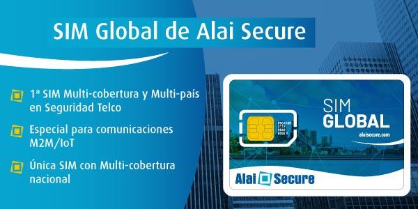 AlaiSecure - SIM Global Multi-cobertura