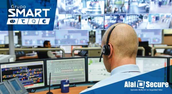 AlaiSecure - Noticia: Grupo Smart apuesta por la tecnología de Alai Secure para reforzar su sistema de monitoreo de alarmas con Video Vigilancia