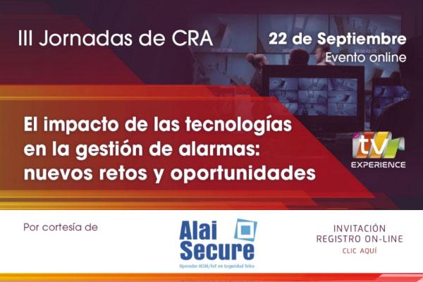 AlaiSecure - Noticias: III Jornadas de CRA